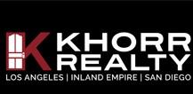 <center>KHORR REALTY<br>DRE Lic # 01925376</center> - Home